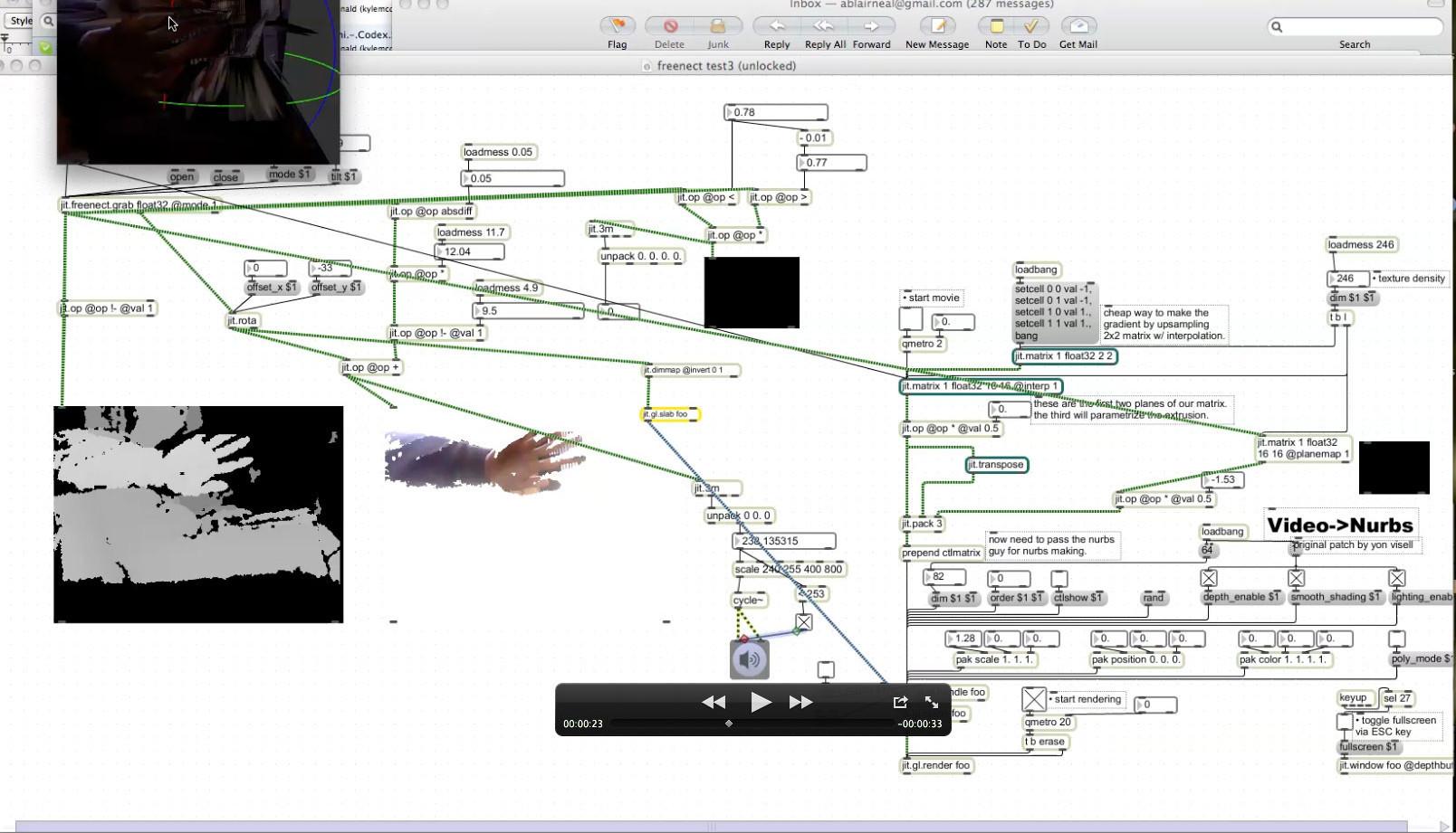 Freenect-screengrab